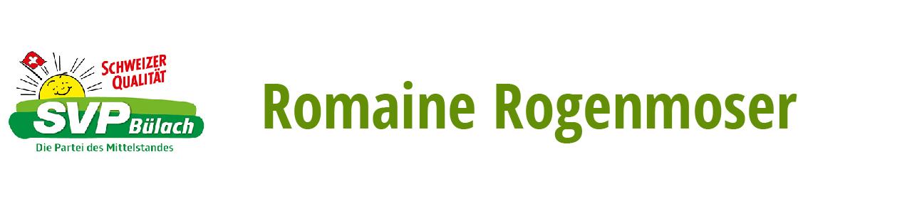 Romaine Rogenmoser