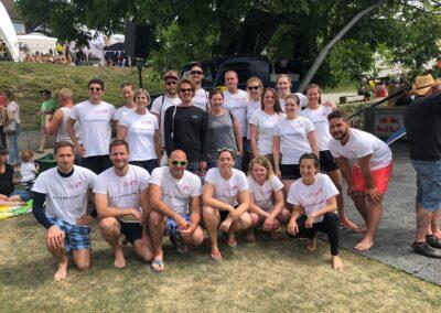 Drachenbootrennen Eglisau, 2018